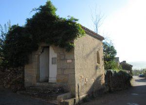La petite chapelle de la Perrière